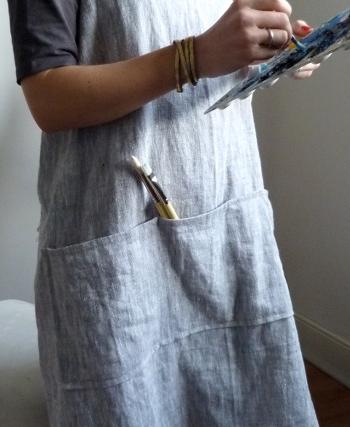 Un tablier de peintre