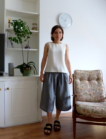 Jupe-culotte & top