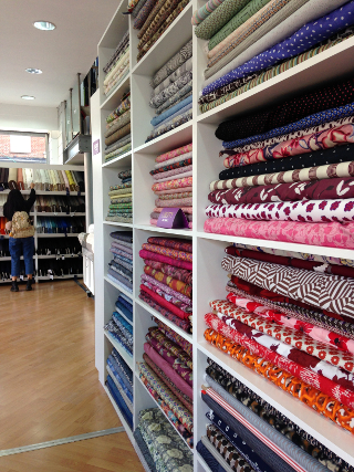 Les meilleurs magasins de tissus à Londres