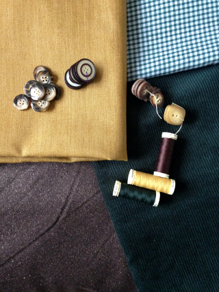 Ma sélection de tissus pour l'automne
