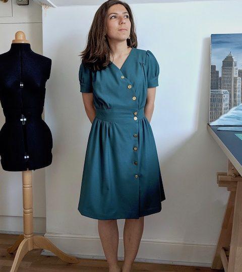 Une robe années 40 (ou deux) – la robe Lliria