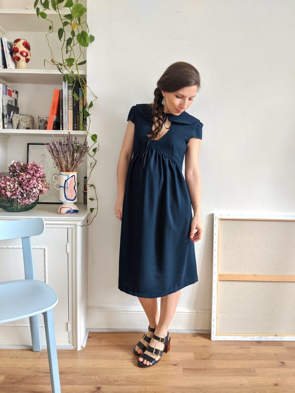 Paulette dress pattern - 9