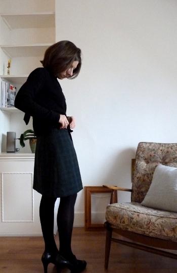 A Scottish skirt