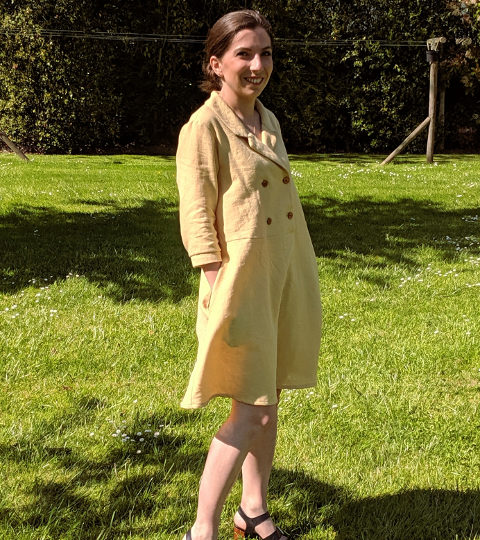 My little yellow Maple dress