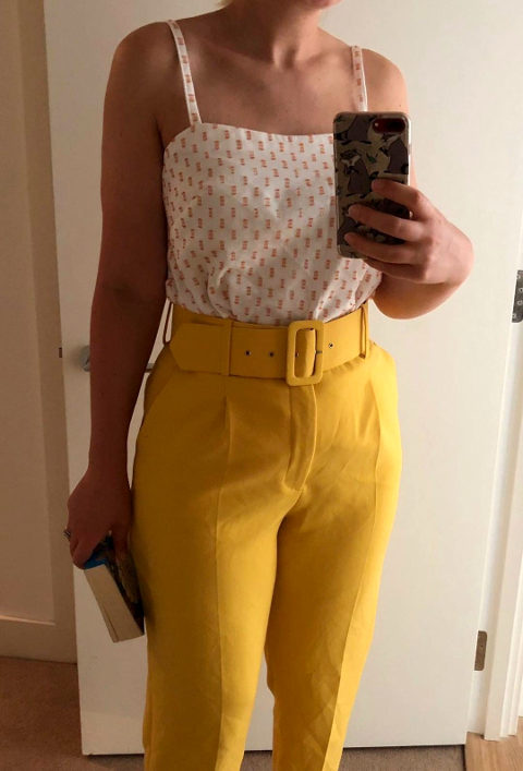Simple easy to sew camisole sewing pattern
