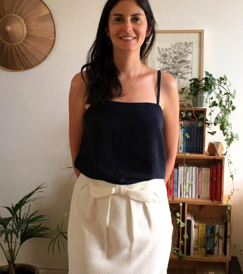A simple and easy to sew camisole pattern