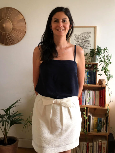 Simple easy to sew cami top pattern