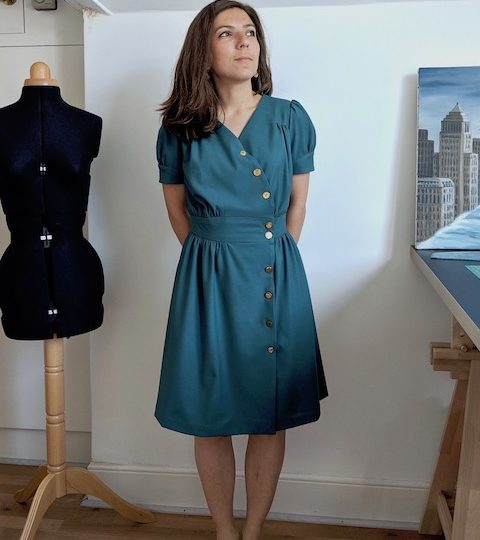 A 40s dress (or two) – the Lliria dress