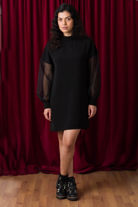 puff sleeve dress pattern