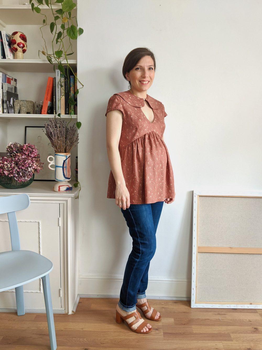 Paulette blouse pattern - 2