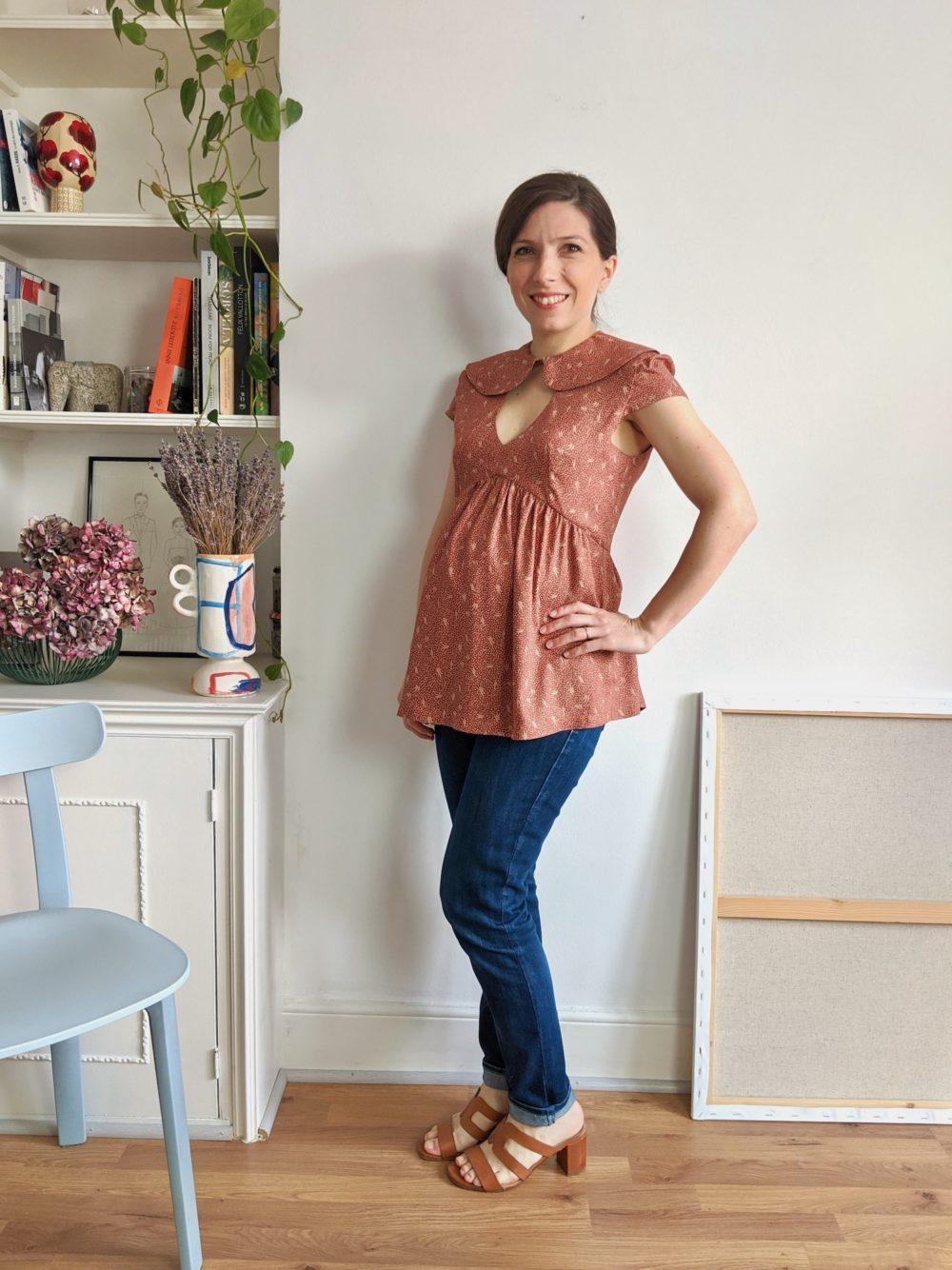 Paulette blouse pattern - 3