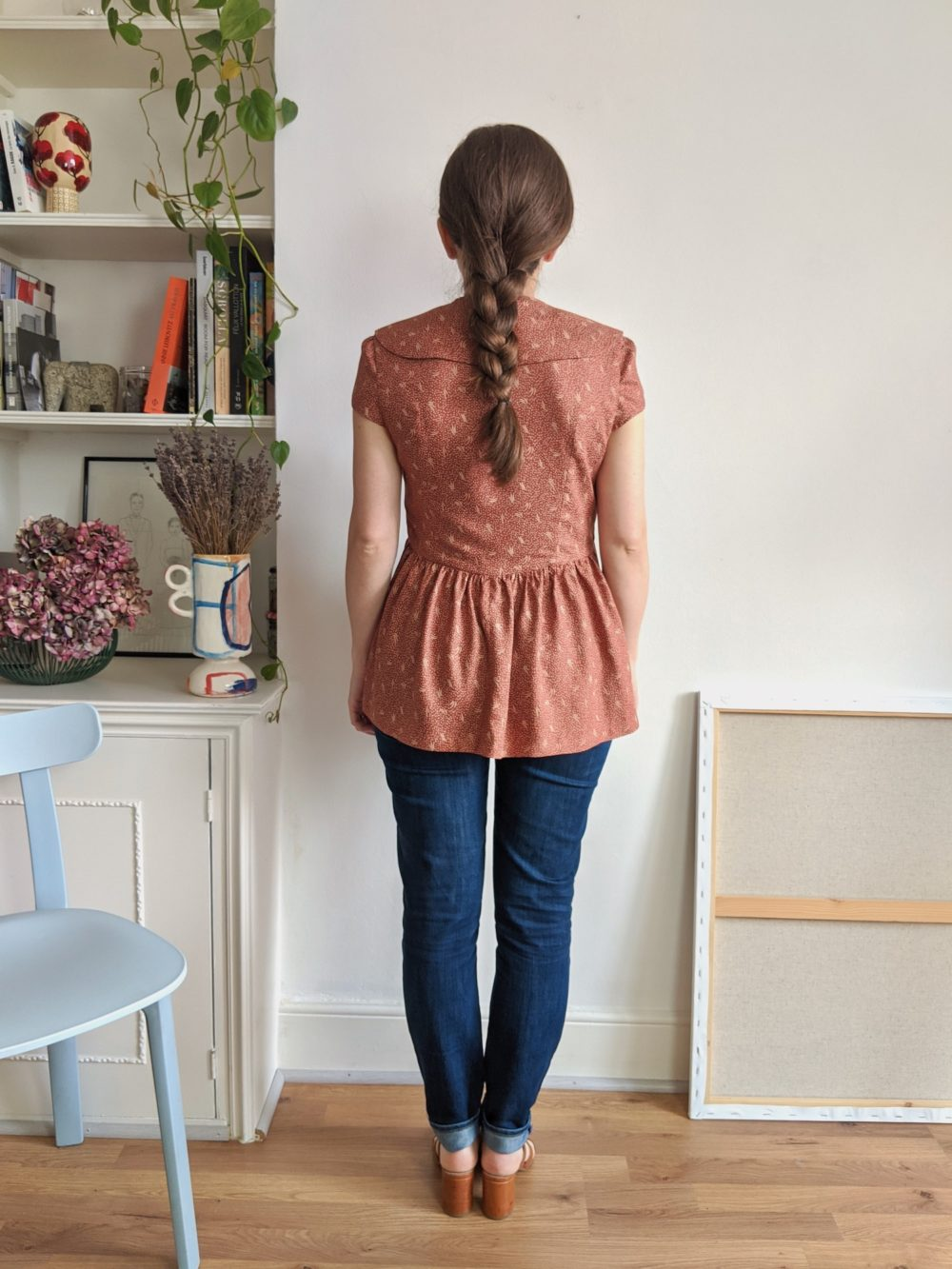 Paulette blouse pattern - 5