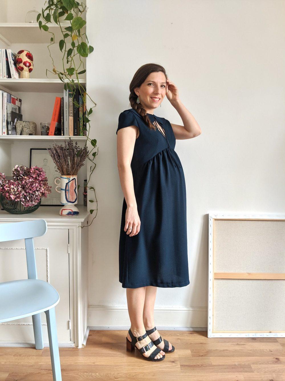 Paulette dress pattern - 6