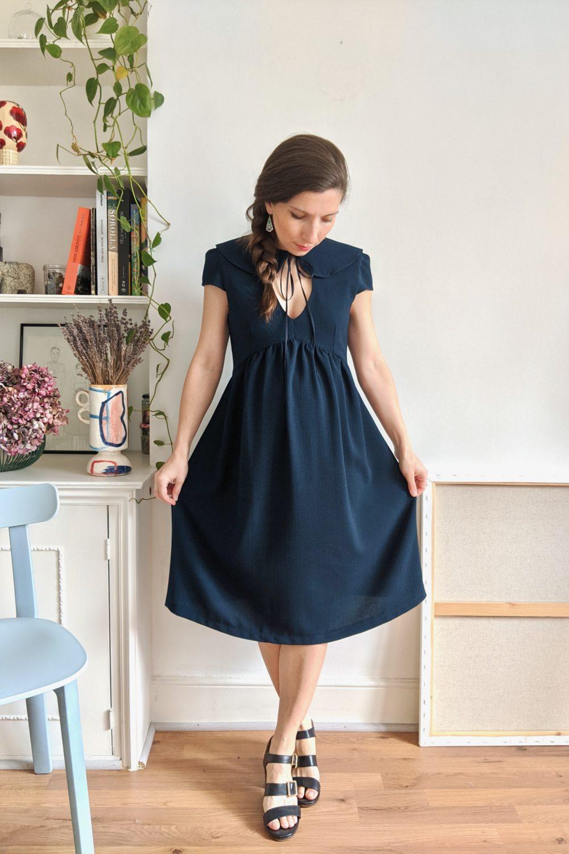 Paulette dress pattern shop