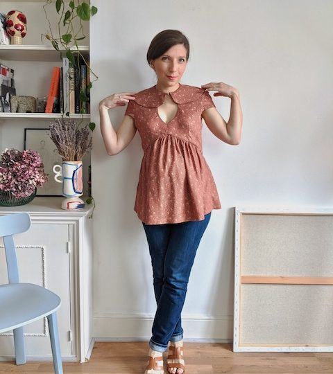 Tips to sew the Paulette pattern